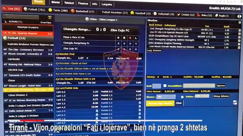 EMRAT/ Lojërat e fatit, arrestohen dy persona në Tiranë