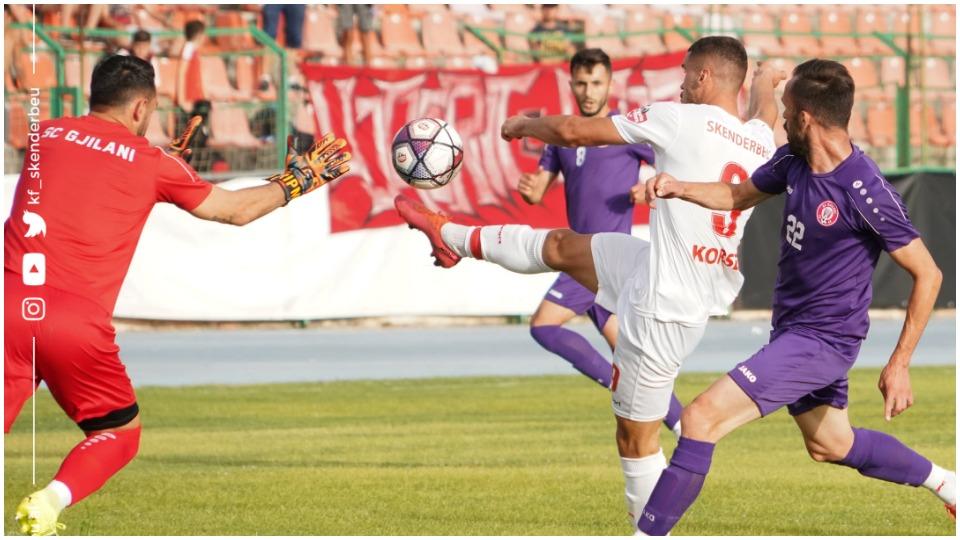 Katër gola dhe përmbysje, Gjilani mund Skënderbeun në miqësore
