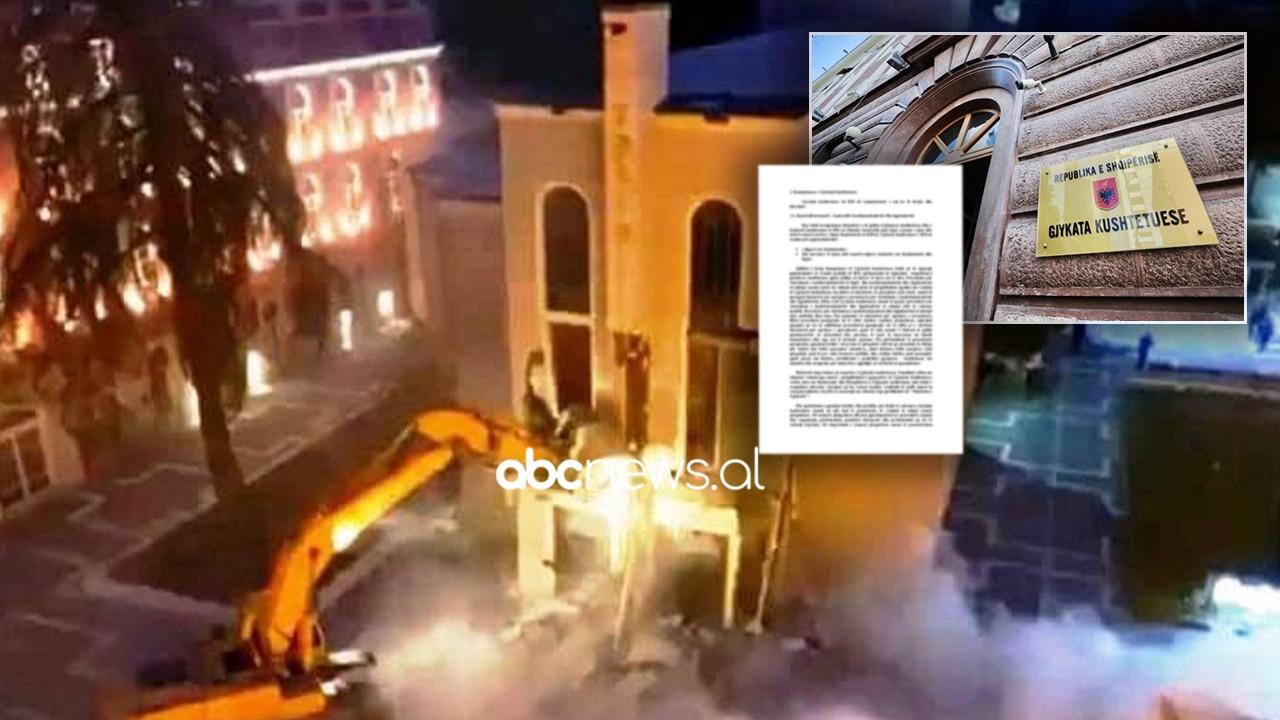Kushtetuesja rrëzon ligjin për Teatrin, pezullohet ndërtimi i të riut dhe kalimi i tokës në pronësi të bashkisë së Tiranës