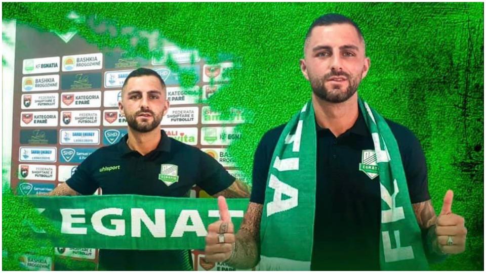 Zyrtare: Egnatia vazhdon përforcimin e ekipit, firmos për dy vite me mesfushorin grek