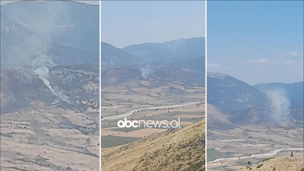 Zjarr në një fshat në Dropull, dyshohet të jetë vënë nga dy barinj