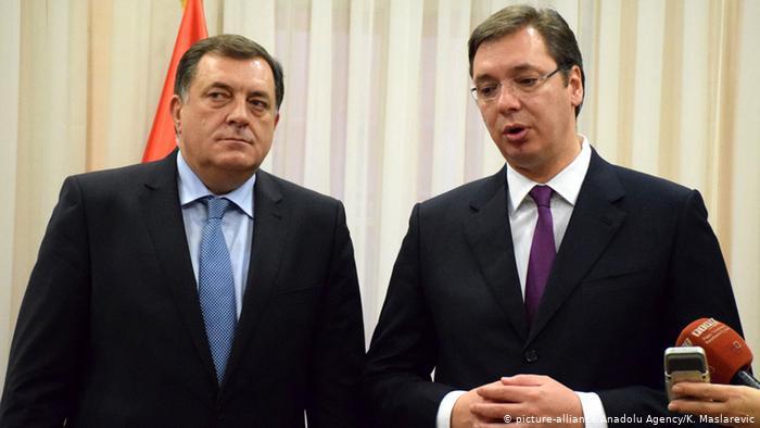 Takimi Vuçiç-Dodik: A duhet të ndahet Bosnjë-Hercegovina?