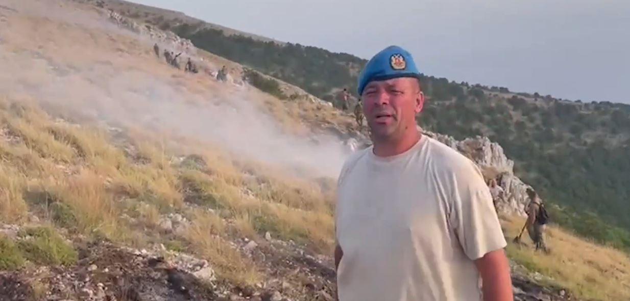 Rama publikon videon: Zmbrapset furia e flakëve drejt Parkut Kombëtar të Llogarasë