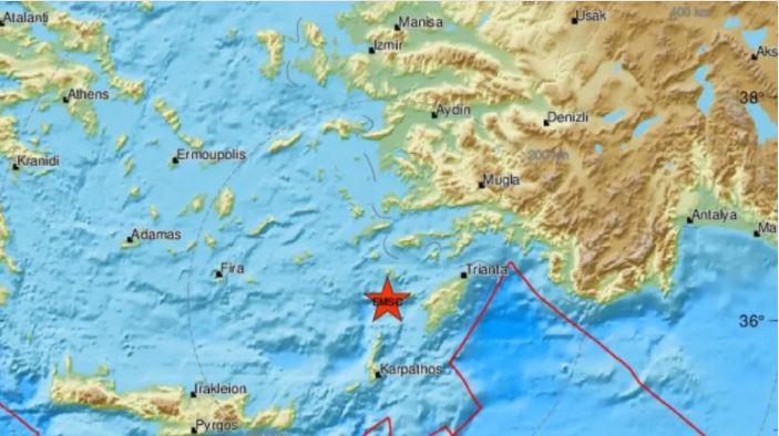 Greqia nuk gjen qetësi, regjistrohen dy tërmete njëri pas tjetrit