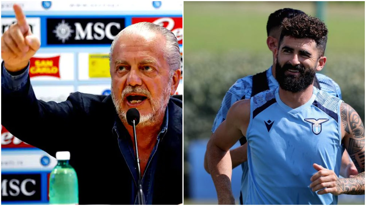 """""""Dua 65 mijë € dëmshpërblim nga Hysaj"""", presidentit të Napolit s'i del inati"""