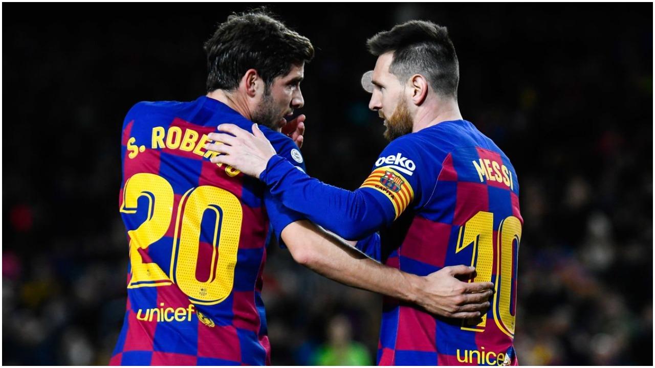 """Si zëvendësohen 40 golat e Messit te Barcelona, Sergi Roberto jep """"recetën"""""""