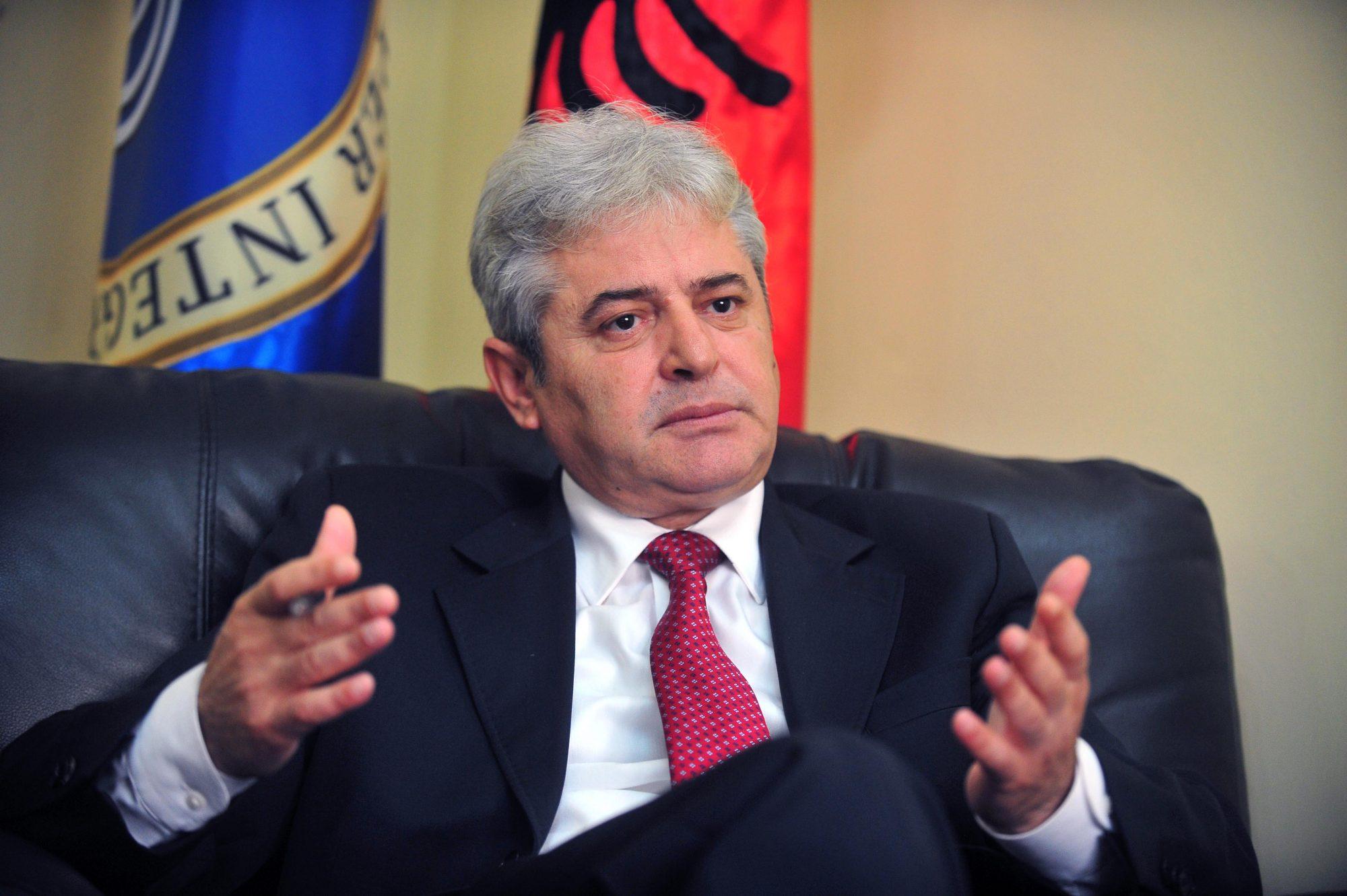 """Ali Ahmeti: """"Open Ballkan"""" nuk është ripushtim i Kosovës, gjërat të merren me gjakftohtësi"""