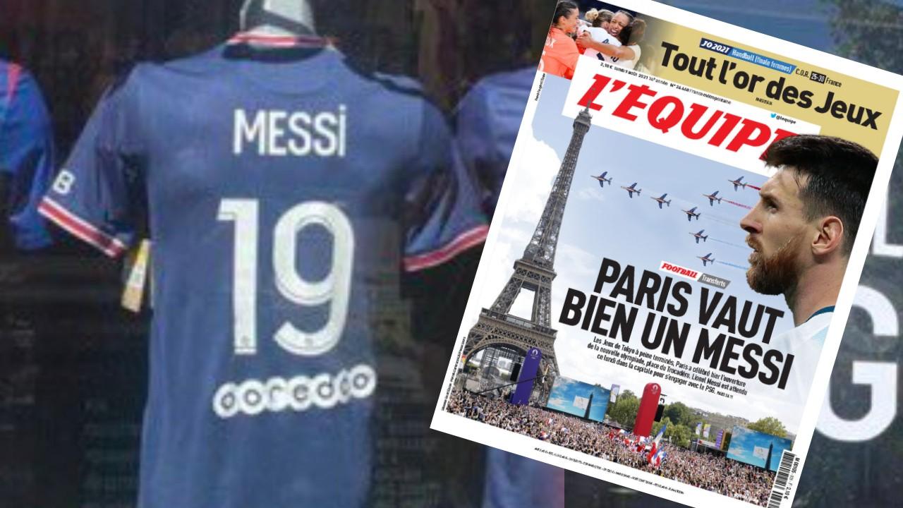 Parisi në këmbë për Leo Messin, në dyqane i vënë edhe fanellat me PSG-në