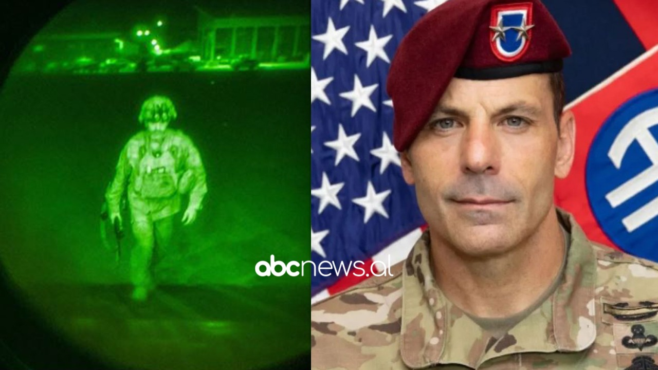Fundi i luftës 20-vjeçare, ky është ushtari i fundit amerikan që u largua nga Kabuli