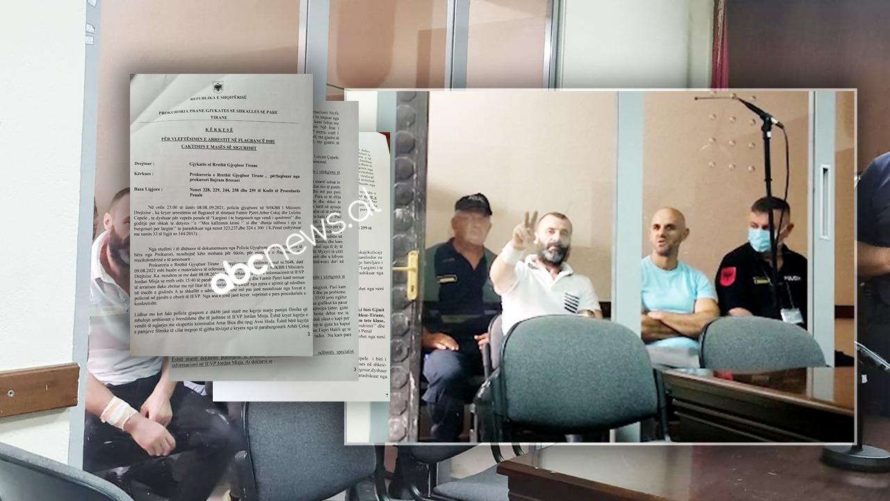 """DOSJA/ Tentativa e arratisjes tek """"313"""", punonjësi i burgut: Pashë Çekajn duke duke goditur policin e sigurisë"""