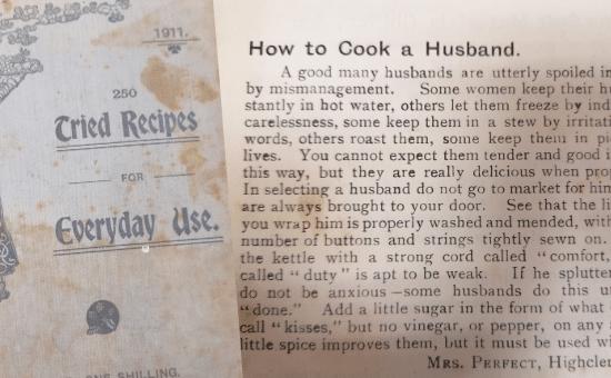 """Mësoni si """"gatuhet burri"""", zbulohet libri i vjetër i recetave në një shtëpi të pabanuar"""