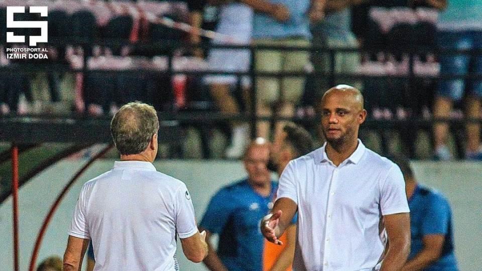 Duro: Anderlecht vitrinë për ne, Hasi na dha këshilla! Kompany fantastik, na befasoi!