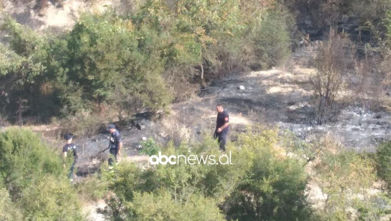 Zjarr pranë ish-depove të municioneve ushtarake në Gjirokastër, dyshohet i qëllimshëm