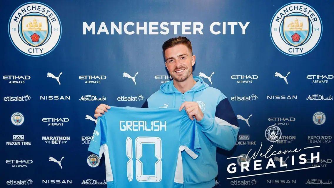 Zyrtare: Grealish te Manchester City, vendoset rekord i ri në Premier League