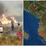 Pamjet nga satelitët e NASA-s, ku janë vatrat e zjarreve në Shqipëri dhe Europë