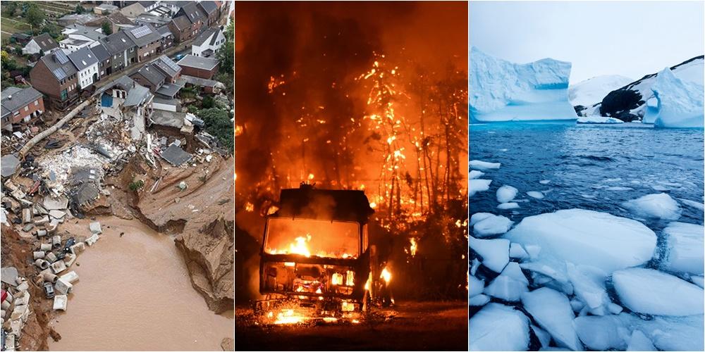 Nga përmbytjet te zjarret katastrofike e shkrirja e akujve, OKB publikon raportin shqetësues për klimën