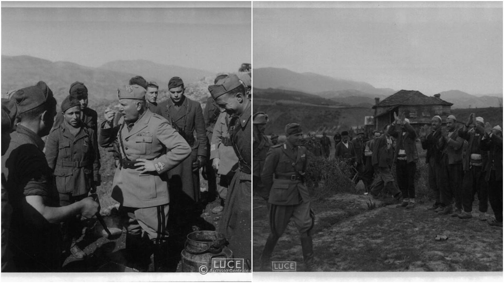 Dalin fotot e rralla nga vizita e Duçes në Shqipëri, çfarë i ndodhi diktatorit italian kur u largua