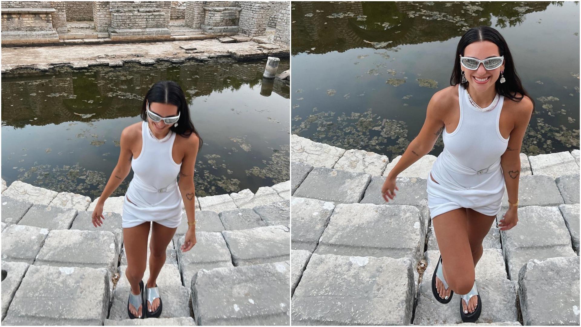 Dua Lipa magjepset nga bukuritë e Shqipërisë, viziton Parkun Kombëtar të Butrintit