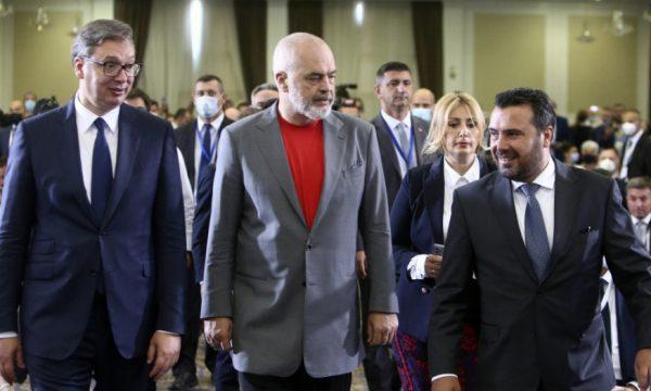 """""""Open Balkan"""", Vuçiç falënderon SHBA-në për mbështetjen"""