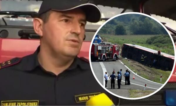 Komandanti i zjarrfikësve në Slavonski Brod: Pamë skena të tmerrshme në vendin ku ndodhi aksidenti tragjik