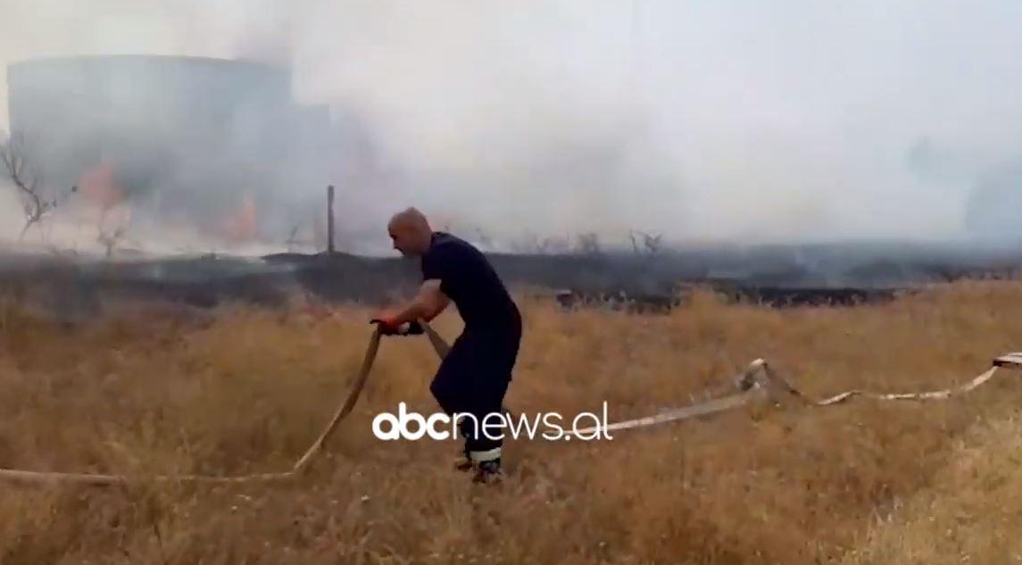 Vlora në flakë, zjarrfikësit nuk po paguhen për orët shtesë