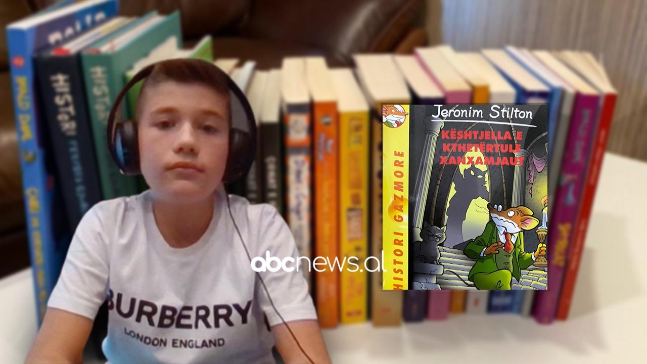 1 libër në një ditë, 12-vjeçari shqiptar lexon 55 libra për pushime verore