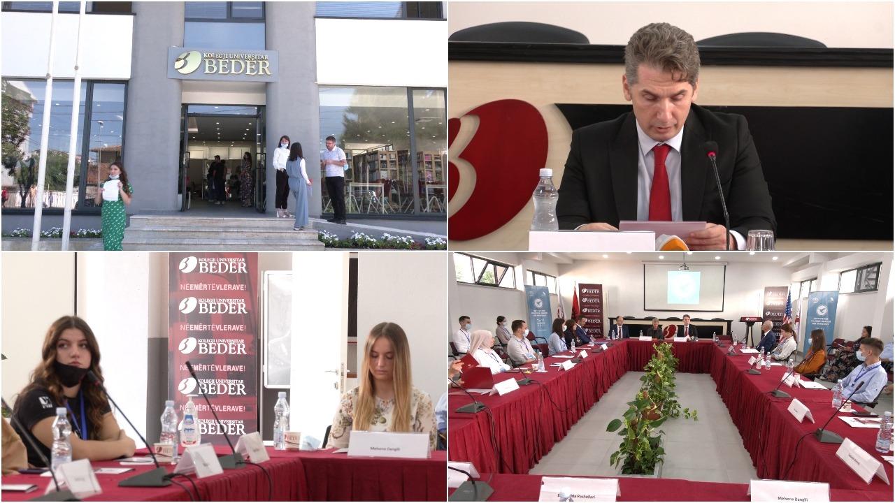 """Kolegji universitar """"Bedër"""", aktivitet për lirinë e besimit dhe demokracinë"""