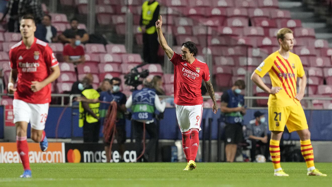 I ndodh sërish Barçës, asnjë gjuatje në portë në pjesën e parë ndaj Benfica