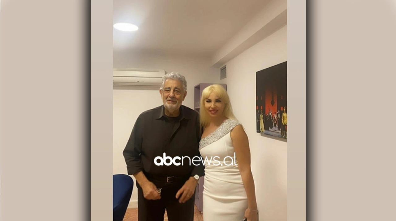 Placido Domingo vjen në Shqipëri, sopranoja e njohur ndan foton e parë me legjendën e operas
