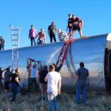 Treni del nga shinat, tre të vdekur dhe dhjetëra të plagosur në SHBA