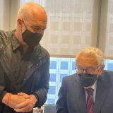 FOTO/ Rama takohet me Henry Kissinger në SHBA: Legjenda e politikës së jashtme amerikane