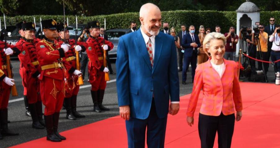 Von Der Leyen: Albania's future is in  EU, progress in Justice Reform
