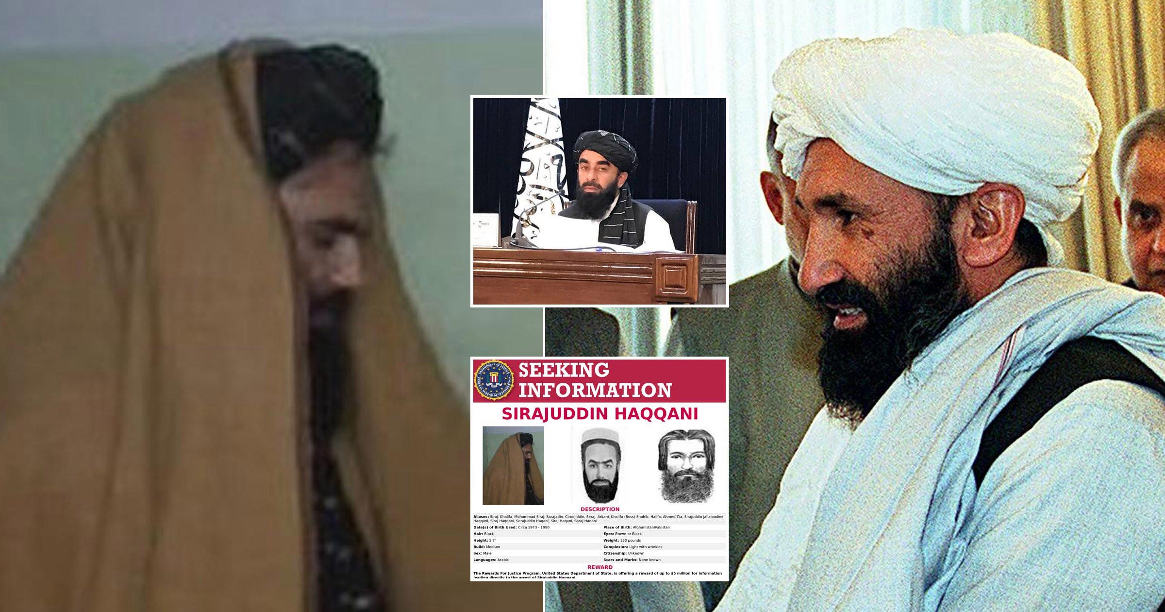 Ministri i Brendshëm i talebanëve është terroristi më i kërkuar i SHBA
