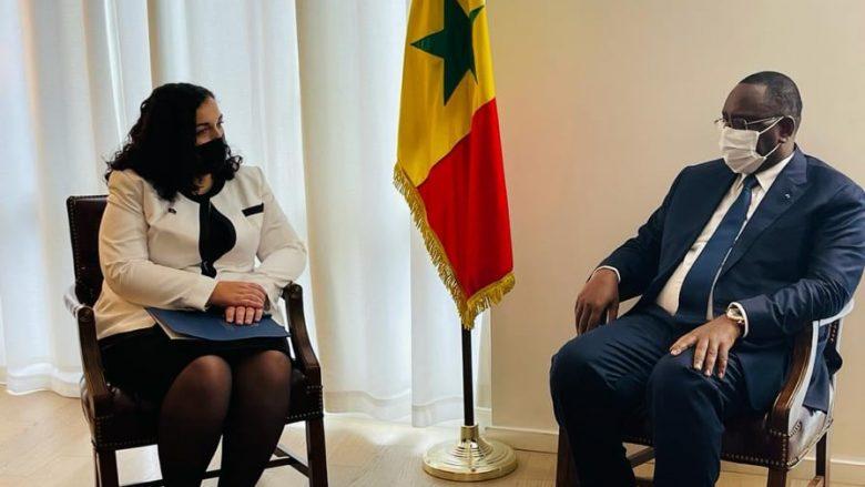 Osmani fton presidentin e Senegalit ta vizitojë Kosovën