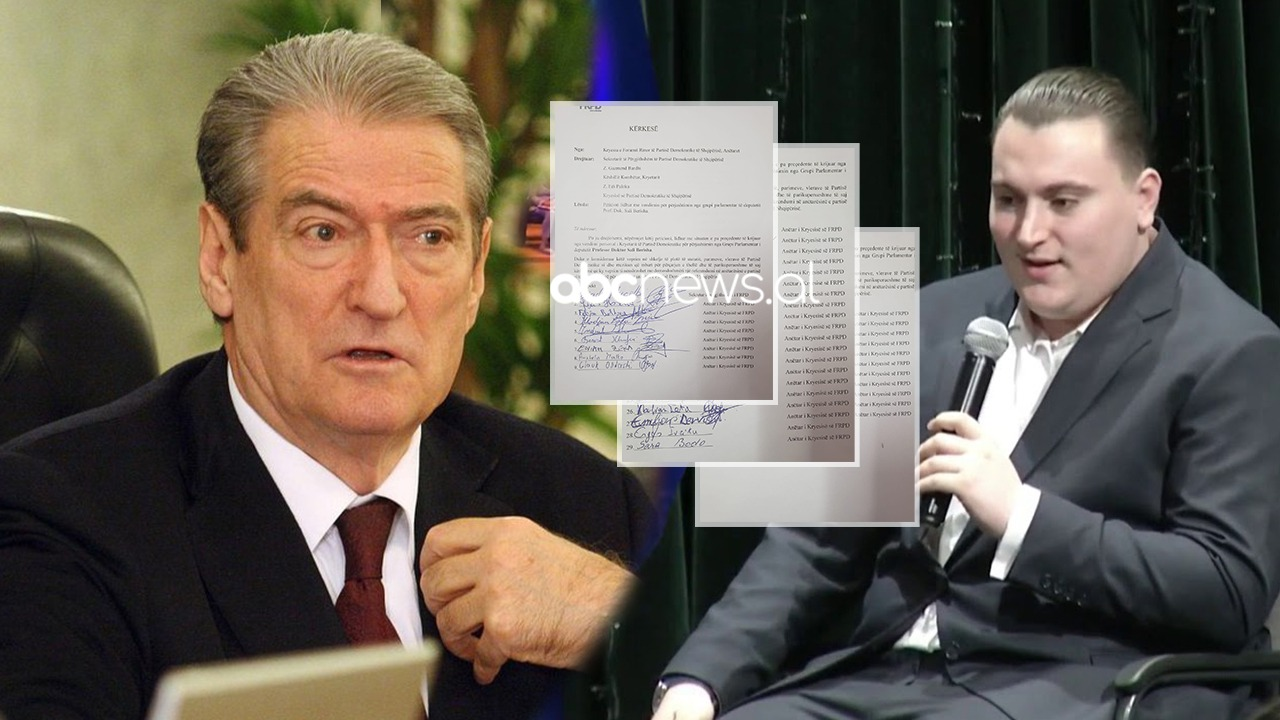 FRPD kërkon thirrjen e referendumit për përjashtimin e Berishës, mes firmëtarëve edhe djali i Olldashit