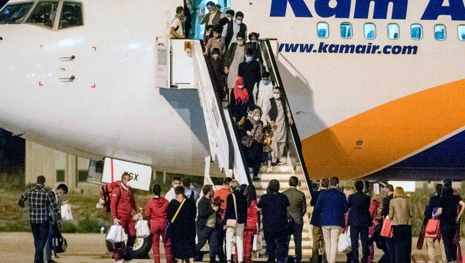 Arriti grupi i dytë i afganëve në Maqedoninë e Veriut