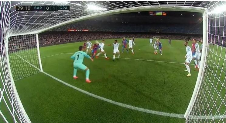 Gafa e lojtarit të Barcelonës që po flet gjithë Spanja (VIDEO)