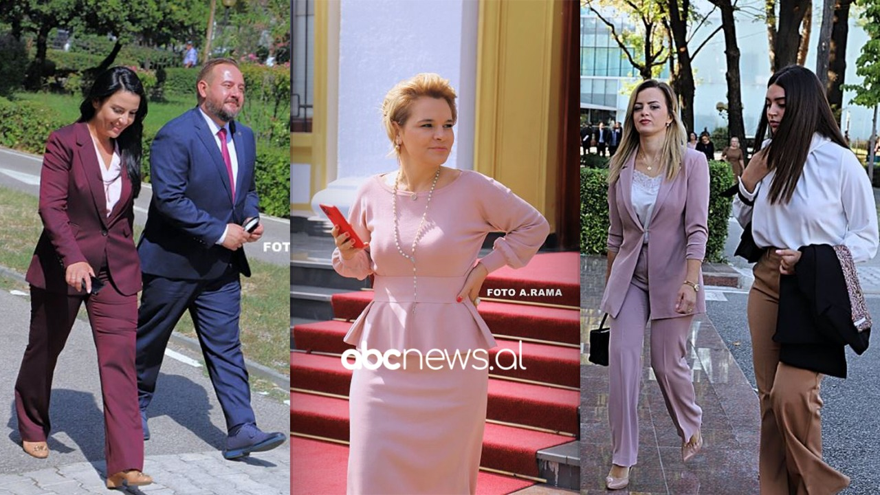 FOTO/ Kryemadhi befason sërish me look-un në Kuvend, zonjat socialiste që zgjodhën ngjyrat e ndezura
