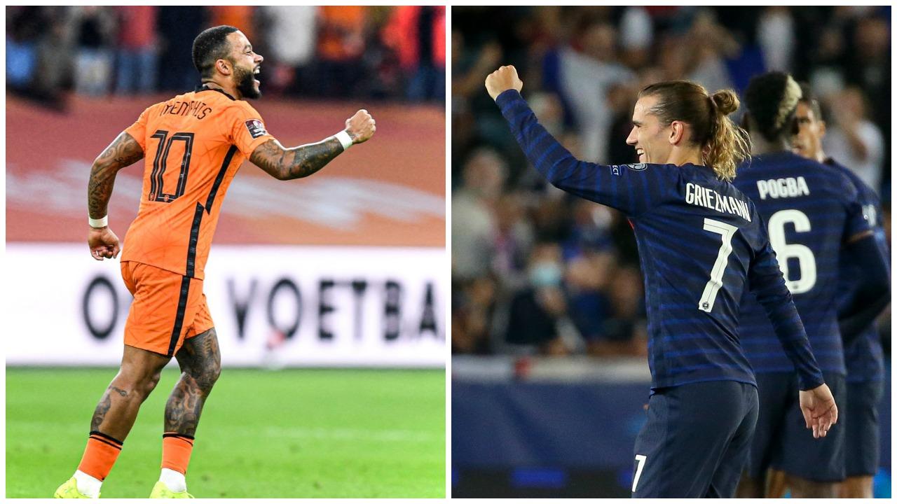 """VIDEO/ Depay e Griezmann """"heronjtë"""", Franca e Holanda nuk i falin rivalët"""