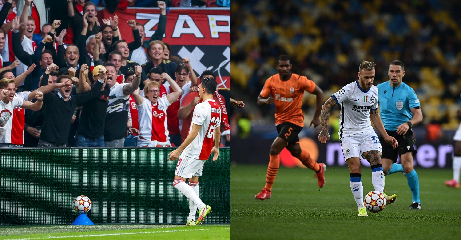 """VIDEO/ Inter ka harruar shijen e fitores në Champions, Ajax """"përul"""" Besiktasin"""