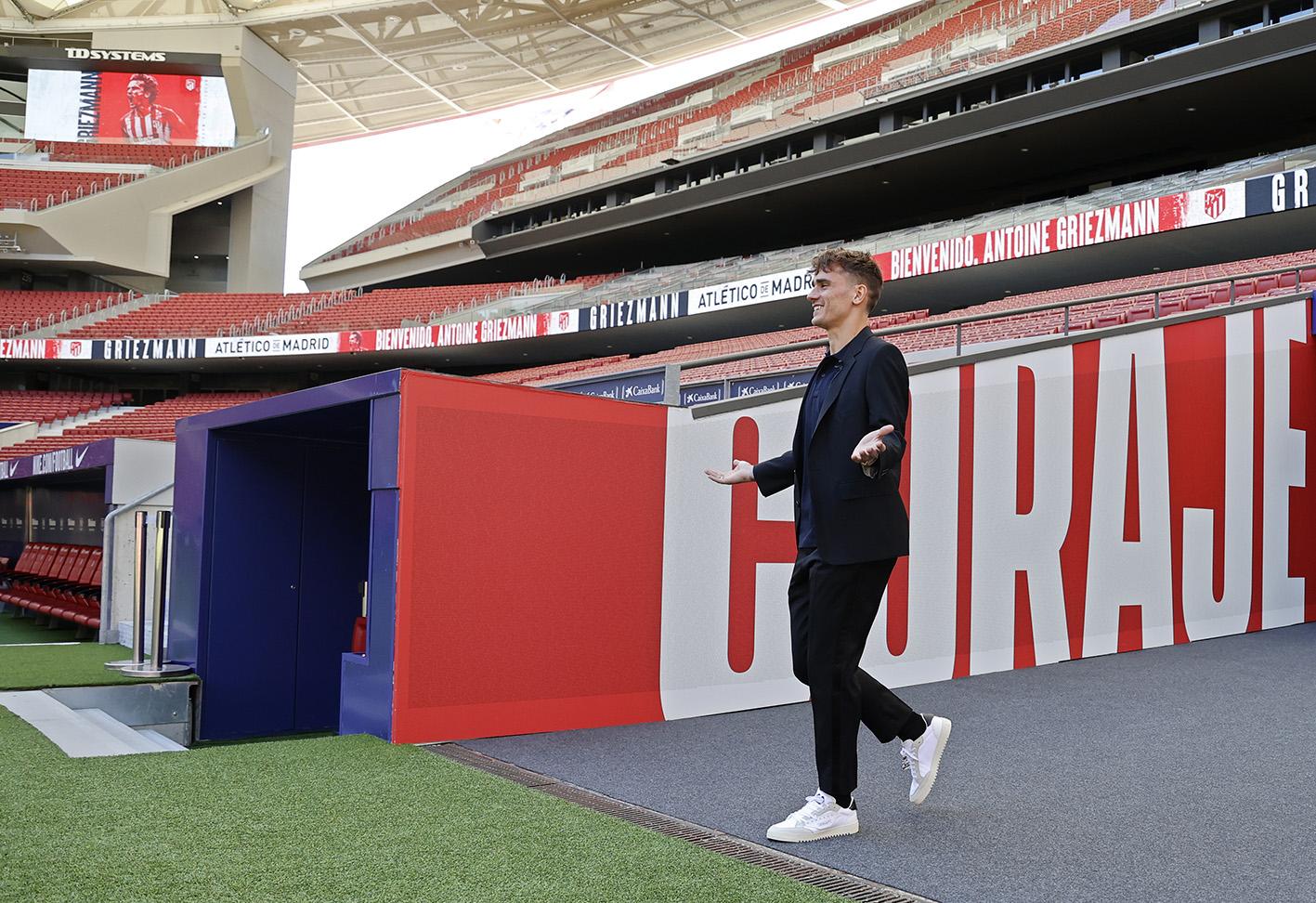 """""""Mirë se erdhe në shtëpi"""", Griezmann prezantohet te Atletico Madridit (FOTO LAJM)"""