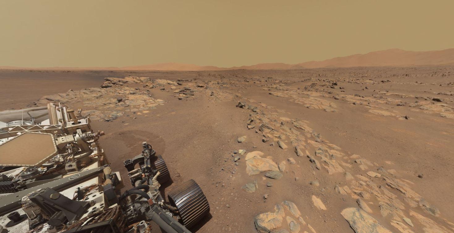 Si të jesh në Mars, publikohen pamjet 360°nga NASA