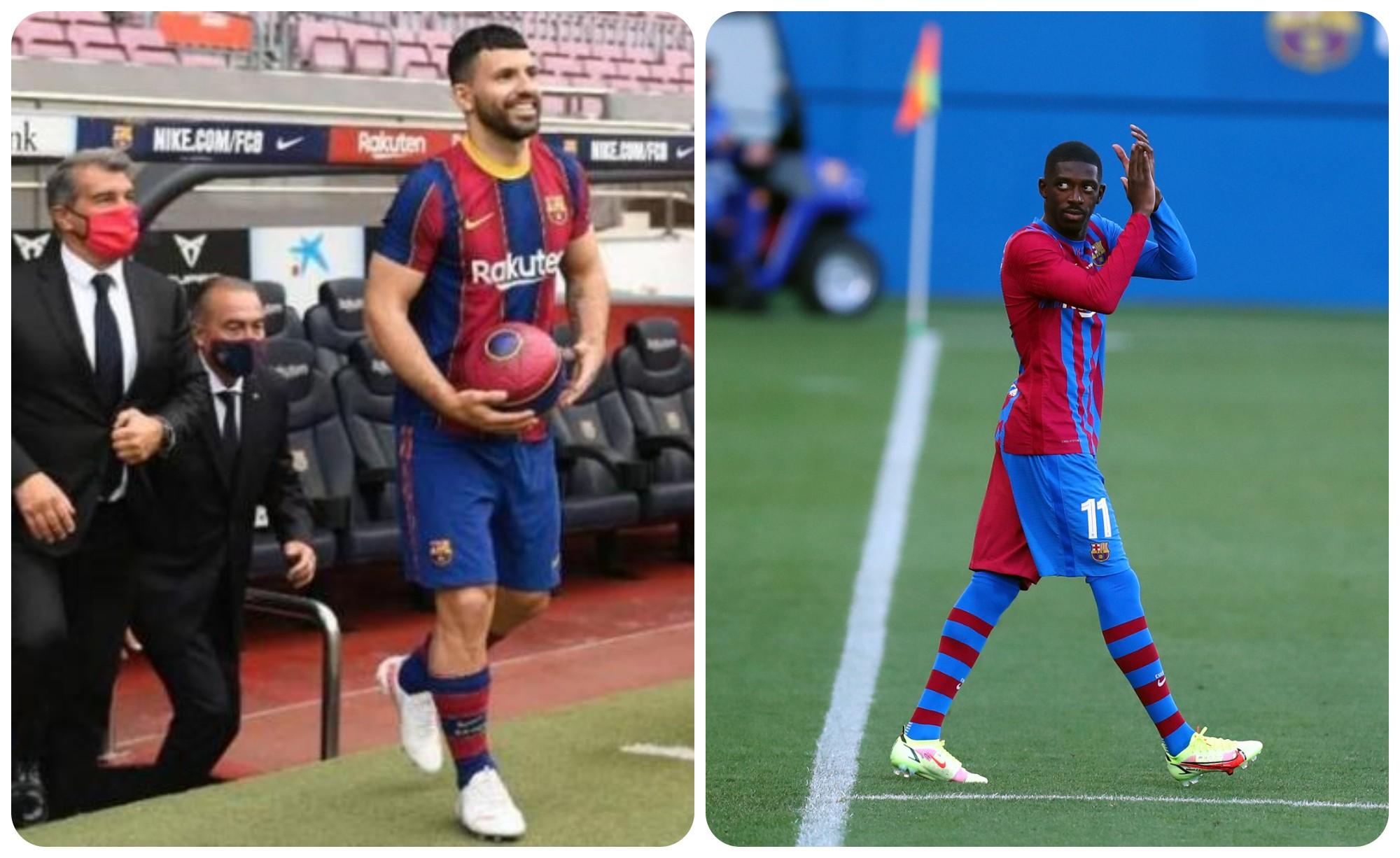 Telashe për Barcelonën, ja sa do të mungojnë Dembele dhe Aguero