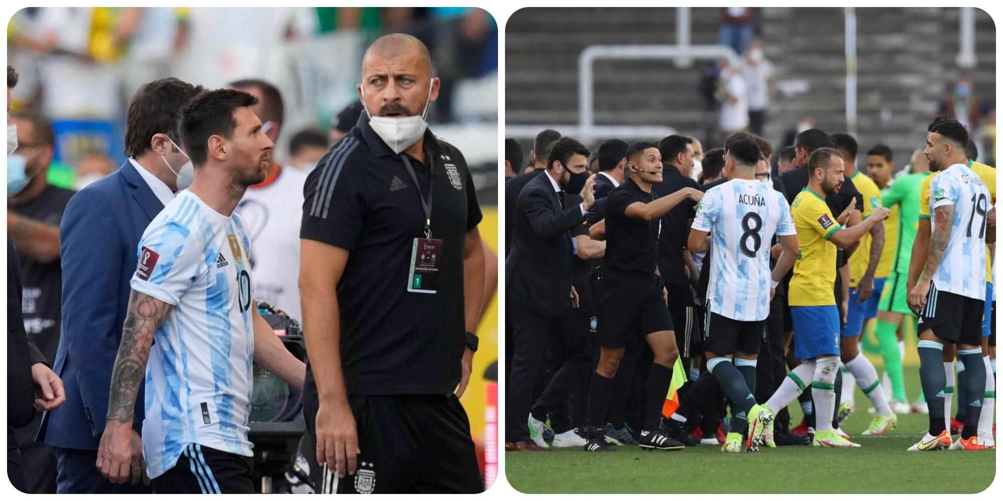 Rrezikojnë deri në 5 vite burg, policia braziliane hap hetim ndaj lojtarëve argjentinas