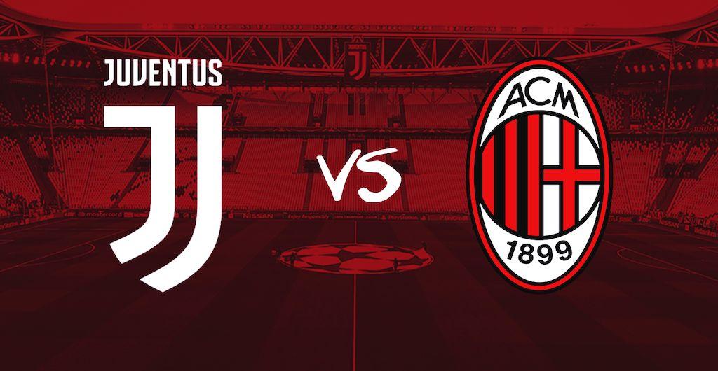 Formacionet zyrtare të derbit Juve-Milan
