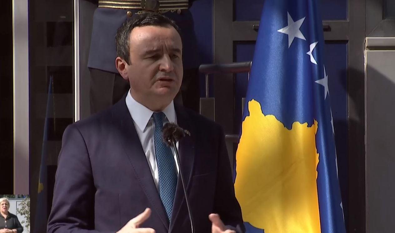 Kurti: Forcat Speciale në kufi për mbrojtje të policisë, jemi kundër dhunës, duam zbatim vendimi