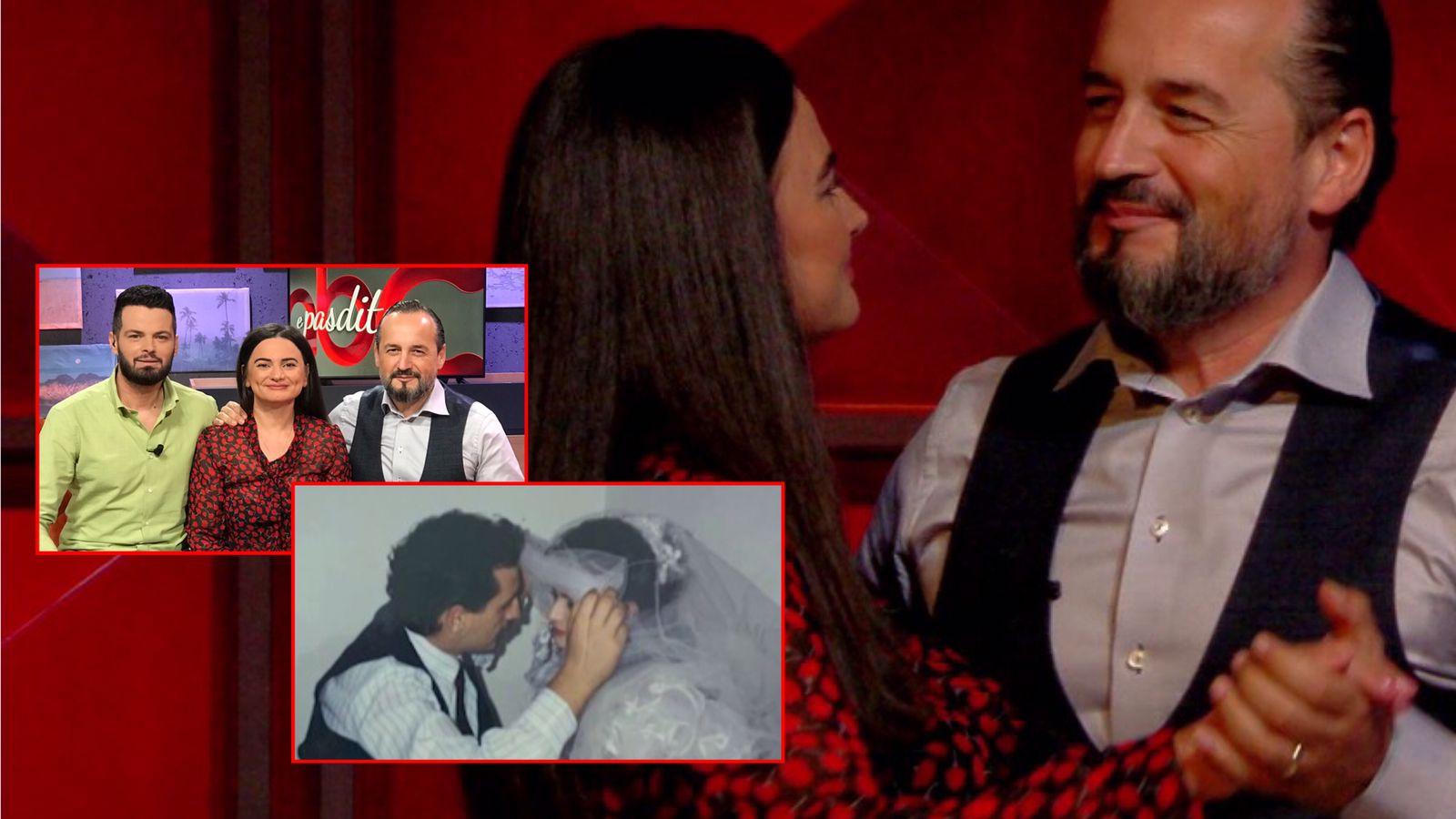Fustani i nuserisë nga Miss Albania te dasma e Akil Pano. Rrëfime zemre në përvjetorin e 27-të