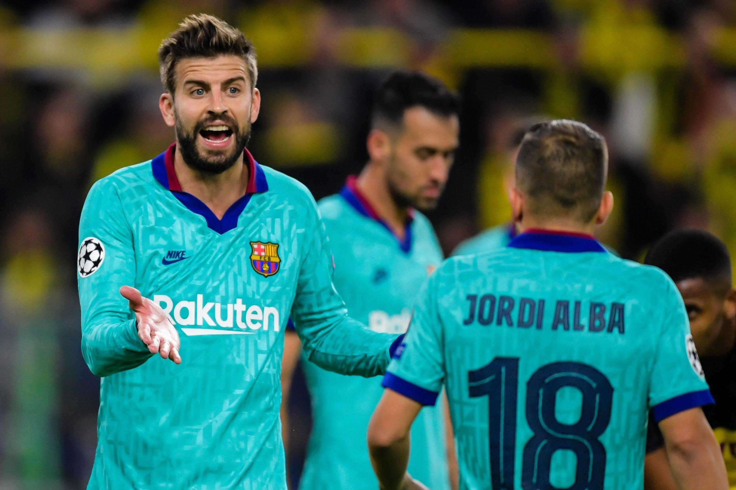 Pique, Alba dhe Sergio Roberto kandidatë për t'u larguar nga Barcelona