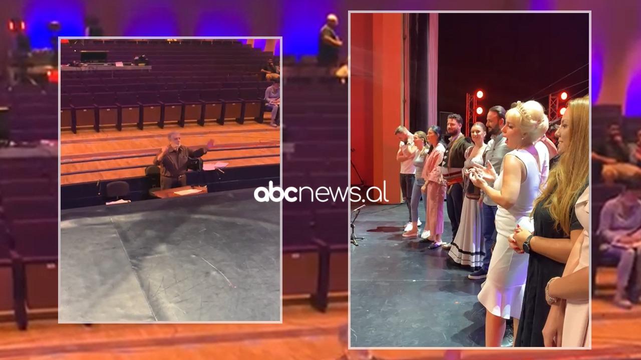 Të mëdhenjtë e Operas në skenë nën drejtimin e Placido Domingos: Abcnews.al siguron pamje nga prova gjenerale
