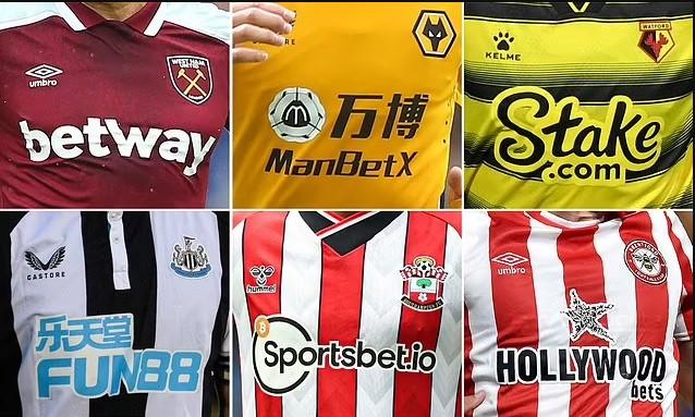 Premier League me ligj të ri,  9 ekipe duhet të ndryshojnë sponsorët